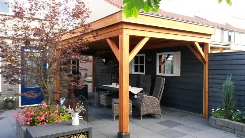 Douglastuinhuizen op maat la tonnelle tuinhuizen en for Offerte veranda